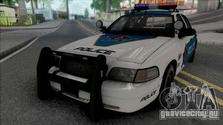 Ford Crown Victoria 2008 Palm City Police для GTA San Andreas