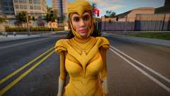 Wonder Woman 1984: Golden Eagle Armor (Without W для GTA San Andreas