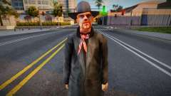 Brown Hair Cowboy для GTA San Andreas