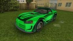 NFSMW Dodge Viper JV для GTA Vice City