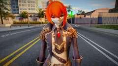 Diluc from Genshin Impact для GTA San Andreas