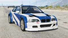 BMW M3 GTR (E46) Most Wanted〡add-on v2.2b для GTA 5