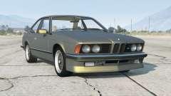 BMW M635 CSi (E24) 1986〡add-on v1.0a для GTA 5
