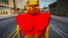 Buff Winnie the Pooh для GTA San Andreas