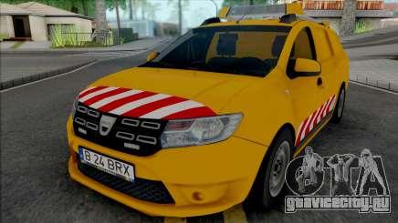 Dacia Logan MCV 2018 Road Control для GTA San Andreas