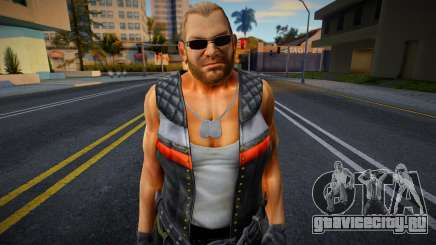 Dead Or Alive 5 - Bass Armstrong (Costume 1) 3 для GTA San Andreas