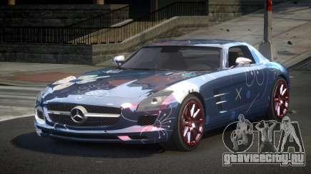 Mercedes-Benz SLS PS-I S10 для GTA 4