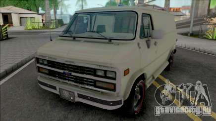 Chevrolet Van G20 [HQ] для GTA San Andreas
