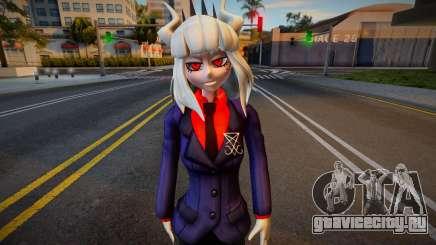 Lucifer from Helltaker для GTA San Andreas