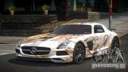 Mercedes-Benz SLS BS S3 для GTA 4