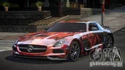 Mercedes-Benz SLS BS S9 для GTA 4