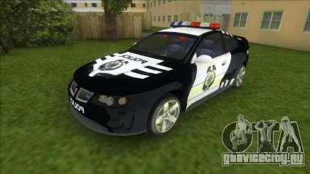 NFSMW Pontiac GTO Cop для GTA Vice City