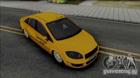 Fiat Linea Taksi (MRT) для GTA San Andreas