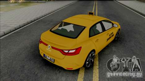 Renault Megane Taksi (MRT) для GTA San Andreas