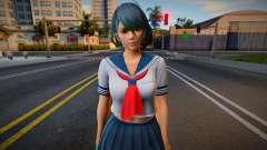 DOAXVV Tamaki White Sailor Uniform для GTA San Andreas