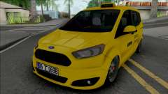 Ford Tourneo Courier Taksi (MRT) для GTA San Andreas