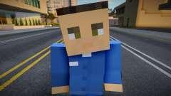 Citizen - Half-Life 2 from Minecraft 10 для GTA San Andreas
