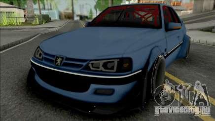 Peugeot Pars Rocket Bunny для GTA San Andreas