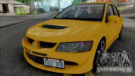 Mitsubishi Lancer Evolution VIII [Fixed] для GTA San Andreas