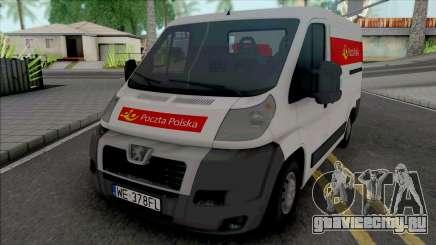 Peugeot Boxer Poczta Polska для GTA San Andreas