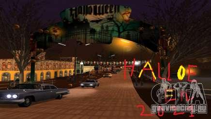 Halloween Of Santa Maria 2021 для GTA San Andreas